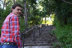 The Climb Ahead (Dan Maxwell) Tags: park senior austin stair tx graduation highschool step graduate mtbonnell covertpark