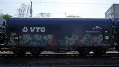 Graffiti in Kln/Cologne 2015 (kami68k [Cologne]) Tags: train graffiti cologne kln illegal ifc freight bombing bunt crank olan 2015 vtg arcelormittal dvtgd 80countrycode