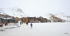 Village of Val Thorens (A. Wee) Tags: france alps village valthorens  troisvalles les3valles
