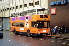 First Manchester 4967 (DWH 683W) (SelmerOrSelnec) Tags: bus manchester cannonstreet leyland fleetline gmt lut arndale firstmanchester northerncounties dwh683w