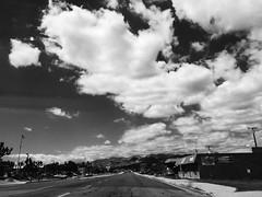 (ken.larmon) Tags: california commute traveling ontheroad iphone highway62 yuccavalley cloudsandsky shootingfromthepassengerseat iphoneography otherdesertcities kenlarmon kenlarmonphotography