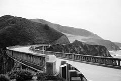 Big Sur, CA (Eric Molyneaux) Tags: california bridge blackandwhite white black landscape coast bigsur roadtrip adventure highway1 bixby fernweh mkexplore