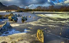 Lochan na - h Achlaise and The Black Mount (Nurmanman) Tags: black scotland highlands mount rannockmoor the lochannahachlaise