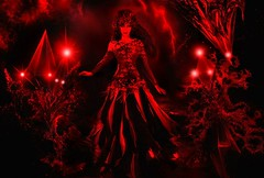 Black magic, red lights. Sofia Metal Queen (Sofia Metal Queen) Tags: beauty star goldberg model darkness crystal sofia witch magic flash hell 666 queen devilish redlight diva magician blackred satanist blackmagic metalqueen sofiametalqueen hellishgirl