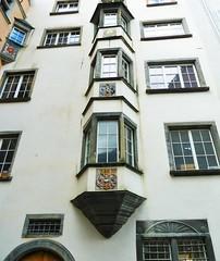 Chur (micky the pixel) Tags: building schweiz switzerland suisse architektur chur altstadt gebude fassade wappen erker graubnden grischuna heraldik