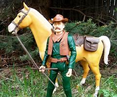 Marshall Murphy (atjoe1972) Tags: horse toys actionfigure diy cowboy marshall western marx 1960s 1970s custom wildwest murphy frontier botw 12inch thunderbolt oldwest johnnywest lawman bestofthewest 16thscale atjoe1972