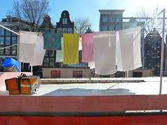 wasdag (Gertie Jaquet) Tags: amsterdam was laundry brouwersgracht wasdag