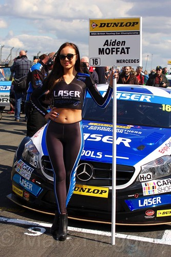 Aiden Moffat during the BTCC Weekend at Donington Park, April 2016