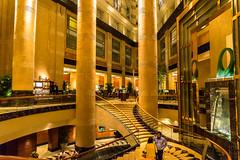Fullerton Luxury (*Capture the Moment*) Tags: windows architecture singapore nightshot interior fenster architektur singapur fullertonhotel 2015 nachtaufnahmen sg50 huserwohnungen