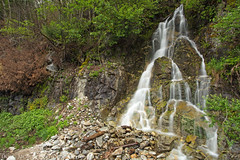 Side Waterfall (mcmillend) Tags: waterfall washington northcascades rosslakenationalrecreationarea northcascadesnationalparkcomplex april2016
