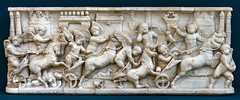 baby bed (mym) Tags: rome roman sarcophagus marble chariot circusmaximus museicapitolini
