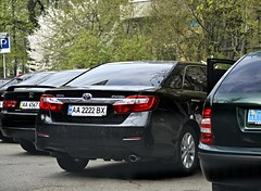 AA2222BX (Vetal_888) Tags: ukraine toyota kyiv aa camry licenseplates 2222 україна київ номернізнаки xv50 aa2222bx