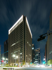 General view of Otemon Tower () (christinayan01) Tags: building tower architecture tokyo office perspective business marunouchi otemachi