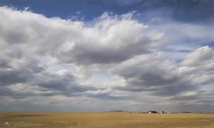 to the heavens (rockinmonique) Tags: blue red sky cloud barn canon landscape golden alberta prairie tamron moniquew