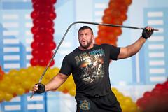 Power of Maslenitsa (MaleWitch) Tags: street man power strong bodybuilder strengh