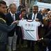 Japanese ambassador's visit to Gaza