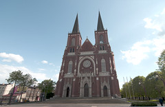 Cathedral Basilica of the Holy Family in Czestochowa (waldemarjan) Tags: cathedral basilica czestochowa
