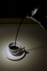 Coffee black in white (Fr@nk1010) Tags: life coffee canon eos still 6d