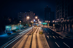 (Wen Cheng Liu (Busy)) Tags: road city night 28mm taipei gr ricoh   gr2