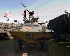 "XM-706 ""Commando"" Armoured car (albionphoto) Tags: usa lafayette jeep nj cadillac landrover willys oshkosh commando militaryvehicle marshallofcambridge xm706 militarytransportassociation"