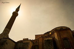 Mezquita (SergioCastroPhotography.) Tags: world viaje sunset sky naturaleza travelling bird art sol nature architecture composition turkey photography photo arquitectura asia europa europe artistic sony awesome country visit istanbul estambul turqua composicin pas