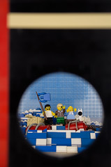 Blurred cover: Tim und Struppi - Kohle an Bord (shortbricks) Tags: tim und comic lego bricks cover short captain tintin tribute hommage haddock volume carlsen herge herg struppi kapitn klap lesaventuresdetintin band18 shortbricks kohleanbord coleenstock blurredcovertimundstruppi