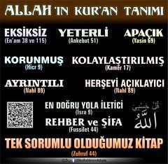 Allah 'n Kur'an tanm (Oku Rabbinin Adiyla) Tags: book god islam religion holy bible allah islamic quran verse kuran ayet