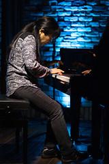 Satoko Fujii live at Cortez, Mito (Japan), 28 Apr 2016 -1000032 (megumi_manzaki) Tags: musician piano jazz improvisation pianist freejazz