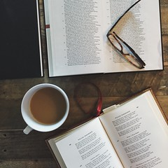 """:: """" the anchor of my purest thoughts, the nurse, the guide, the guardian of my heart, and soul of all my moral being."""" ~ Wordsworth (www.contemplatingtheexquisite.typepad.com) Tags: reading solitude booklover"""