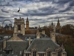 city sky panorama painterly eye castle history clock... (Photo: Мaistora on Flickr)