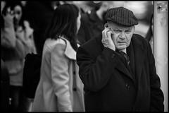 Mobile man (Frank Fullard) Tags: street ireland portrait dublin irish mobile phone candid telephone fullard frankfullard