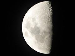 The moon in December (Sandy Austin) Tags: newzealand moon auckland northisland massey sandyaustin panasoniclumixdmcfz70 moonindecember2015