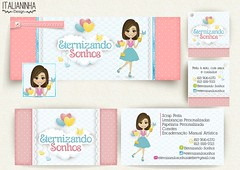 clau (Solangedanielle) Tags: visual logotipo facebook carimbo identidade mascotes empreendedores criativos artedocartodevisita