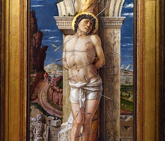 Mantegna, Saint Sebastian