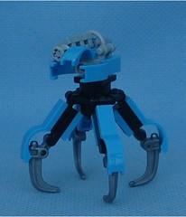 ANQ (Mantis.King) Tags: lego walker scifi futuristic mecha mech moc multiped microscale tripletchallenge mechaton mfz mf0 mobileframezero