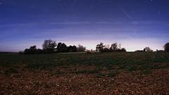 Champs de nuit (wishima) Tags: sky night stars champs ciel paysage campagne nuit nocturne toiles