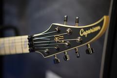 Caparison Horus (paul_ouzounov) Tags: musician music shop guitar bare knuckle guitars jackson custom esp prs namm kiesel 2016 carvin strandberg aristides zeiss55mm sonya7 namm2016