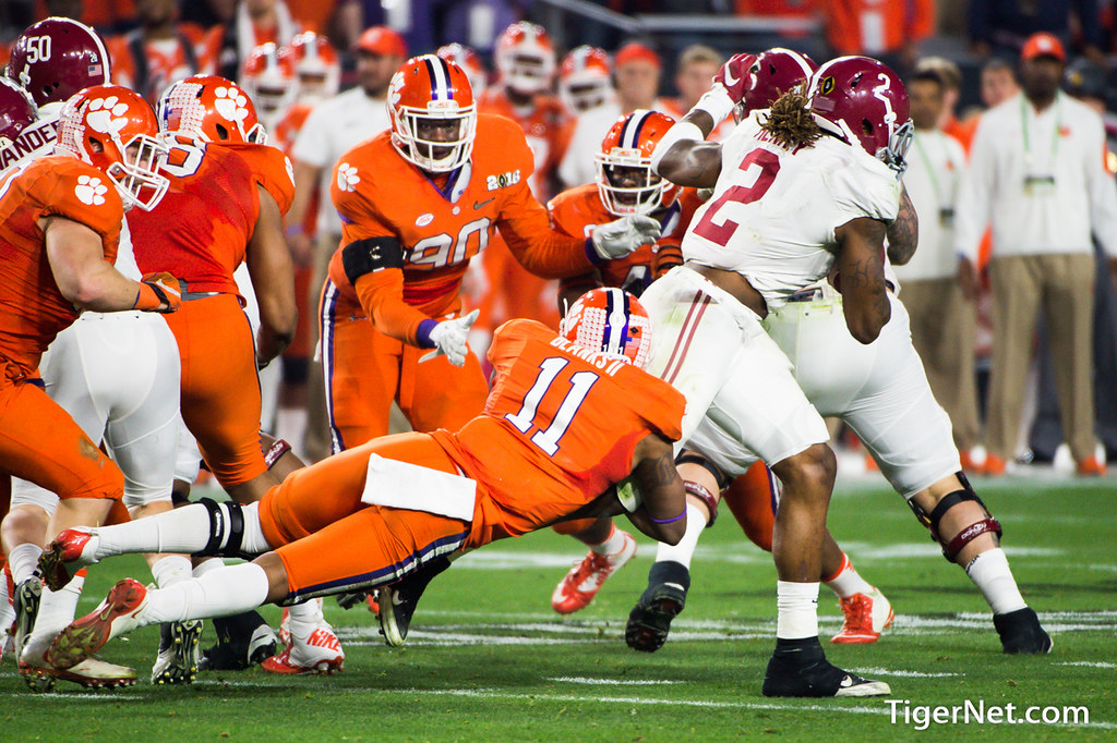 Clemson Photos: Travis  Blanks, 2016, Football