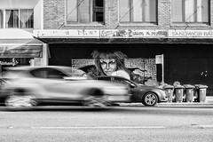 The Goblin King (Leighton Wallis) Tags: streetart motion newcastle movement mural sony australia 55mm nsw newsouthwales alpha f18 labyrinth davidbowie ziggystardust mirrorless a7r emount ilce7r