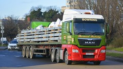 NX65 HHA (panmanstan) Tags: man truck wagon transport lorry commercial vehicle hull freight flatbed haulage humberside hgv tgx