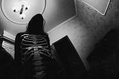 (Malykhanov) Tags: blackandwhite bw black monochrome silhouette dark skeleton death blackwhite ghost gothic goth silhouettes evil doom horror demon bone nightmare darkart