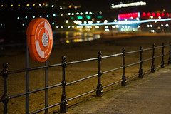Scarborough - Life saving equipment (Tony McLean) Tags: seascape streetphotography northyorkshire streetscenes yorkshirecoast leica75summilux leicam240 ©2016tonymclean