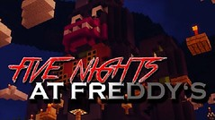 Five Nights at Freddys Adventure Map 1.8.9 (Minecraft Page) Tags: game minecraft