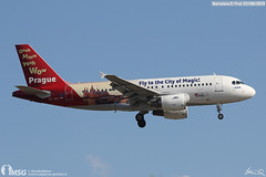 OK-NEP (dabianco87) Tags: barcelona plane prague aircraft bcn airbus csa a319 aerei elprat czechairlines aeroplano oknep
