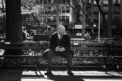 My Next Move (Jared Chernick) Tags: street blackandwhite newyork manhatten