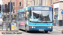 Arriva Yorkshire YJ57 BVY 1414 (WY Bus Spotter) Tags: yorkshire leeds wright interurban 221 commander arriva heckmondwike 1414 wrightbus bvy yj57 vdlde02cssb200