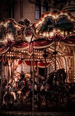 Horses (Ylenia Vassere) Tags: horses child carousel lunapark perugia giostra umbria