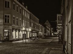 Empty streets in Kalmar (Explore) (A.Husvaer) Tags: night nightshot sweden kalmar xe2 silverefex xf35f2