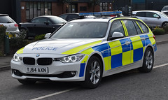 YJ64AXN (Cobalt271) Tags: auto yorkshire north police rpg bmw vehicle touring 330d xdrive yj64axn