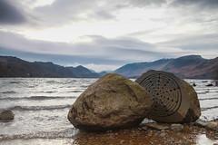 Millennium Stone (Ashey1209) Tags: water derwent lakes lakedistrict cumbria derwentwater nationaltrust keswick milleniumsquare